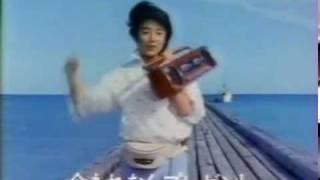 CM TOSHIBA SUGAR RT SW7 原田知世 東芝 天国にいちばん近い島.