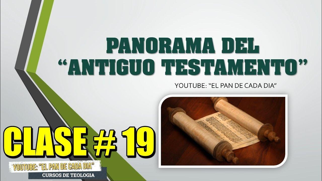 Panorama del Antiguo Testamento | Clase 19 | ¿Que paso entre los versículos 1 al 2 de Génesis 1?