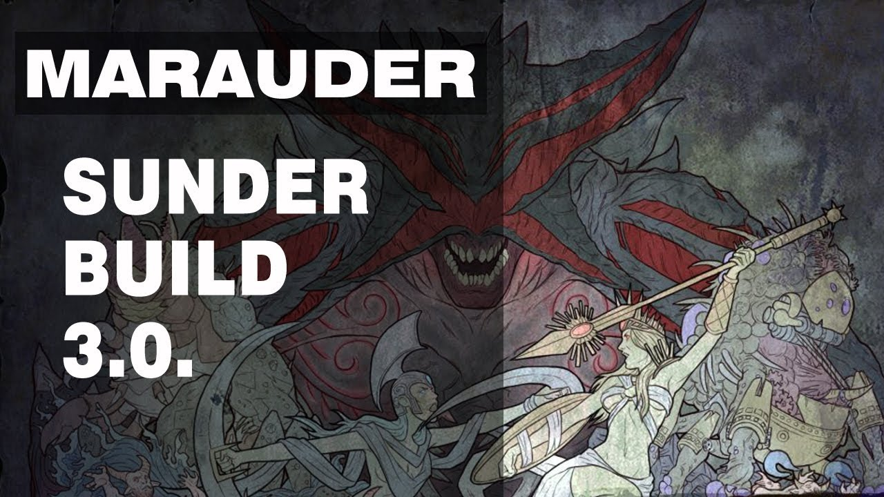 Poe Sunder Marauder Build