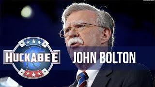 Digital Exclusive: Nat. Security Advisor John Bolton On Rockets, Tariffs, and Terrorism   Huckabee