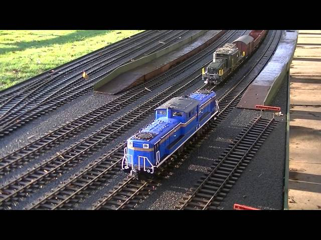 Maerklin Crocodile and JNR DD51 Diesel Travel Video