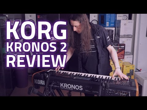 Korg Kronos 2 Review - One Of The Best Workstation Keyboards For Producers