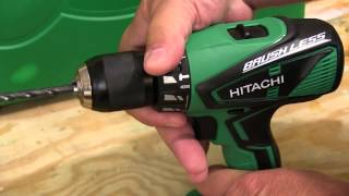 Hitachi 18V Brushless Lithium Ion Combo Kit from Hitachi -KC18DBFL
