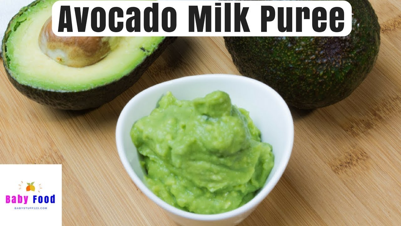 How To Make Stage  Avocado Baby Food