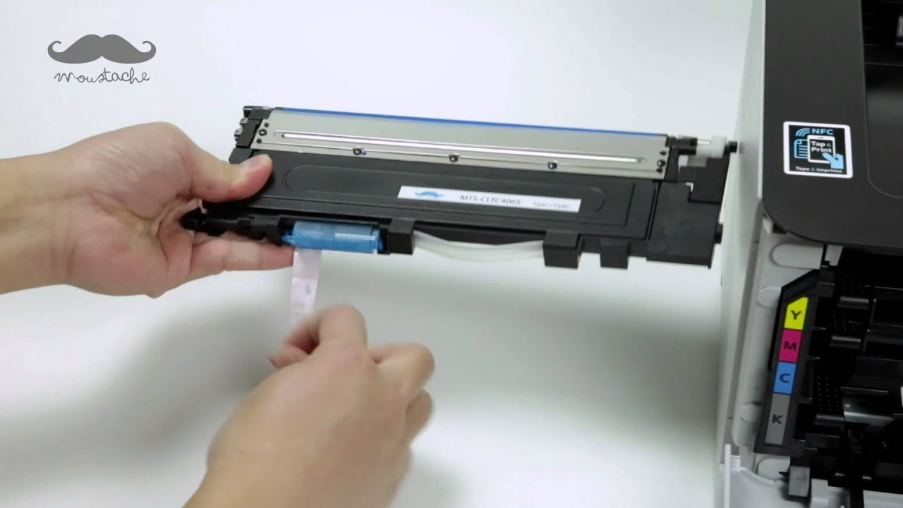 how to install clt 406 compatible toner with printer. Black Bedroom Furniture Sets. Home Design Ideas