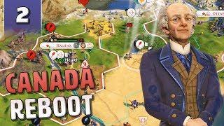 [2] Civilization 6 Canada Reboot - Civ 6 Gathering Storm with June Update