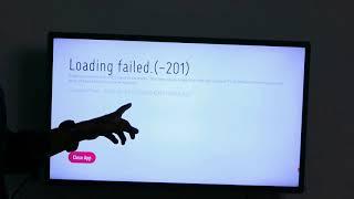LG Smart TV Problem