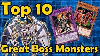 Top 10 Great Boss Monsters in YuGiOh