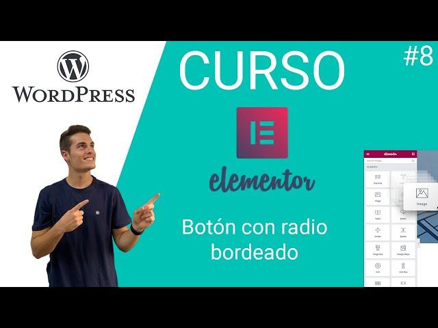 🎓 Curso Elementor Free | Nivel Intermedio [ WORDPRESS ] | Botones con bordes #8