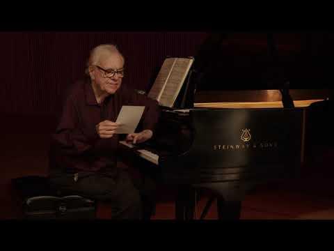 Bach, Debussey, & Brahms; Poems by Tomlinson & Stevens - Richard Goode