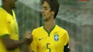 Gol de Rodrigo Caio, Brasil 7 x 0 Catar - Torneio de Toulon (Sub-21) 30/05/2014