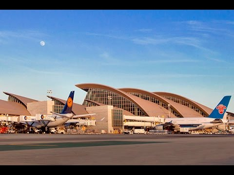 A Walk Around The New Bradley International Terminal - LAX