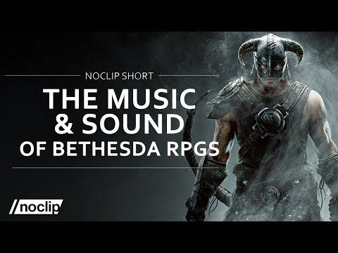 The  & Sound of Bethesda RPGs Skyrim Oblivion Fallout