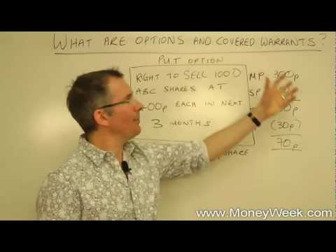 What are options and covered warrants?  - MoneyWeek Investment Tutorials