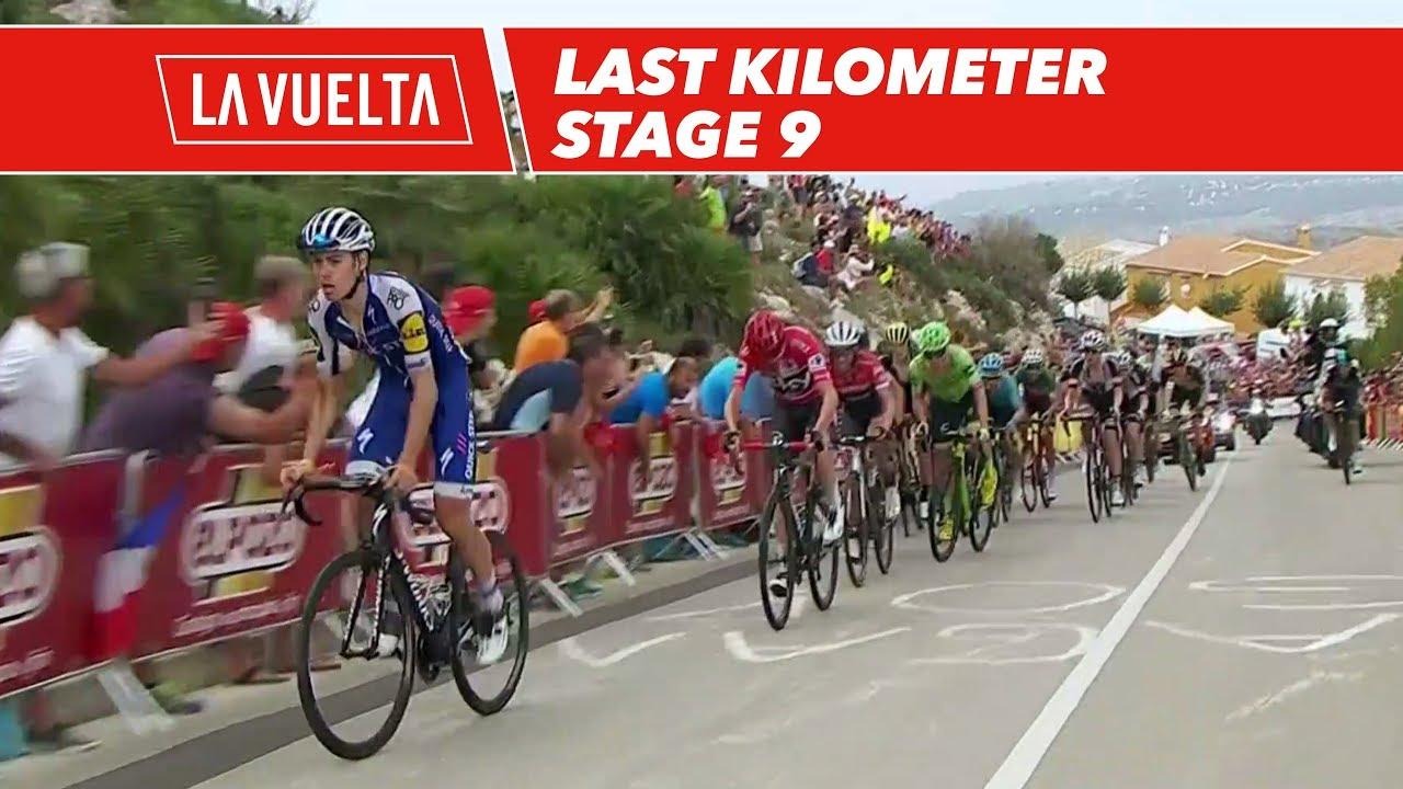 Last Kilometer Stage 9 La Vuelta 2017 Youtube