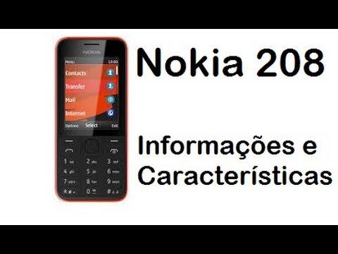 Nokia 208 - Review das Características