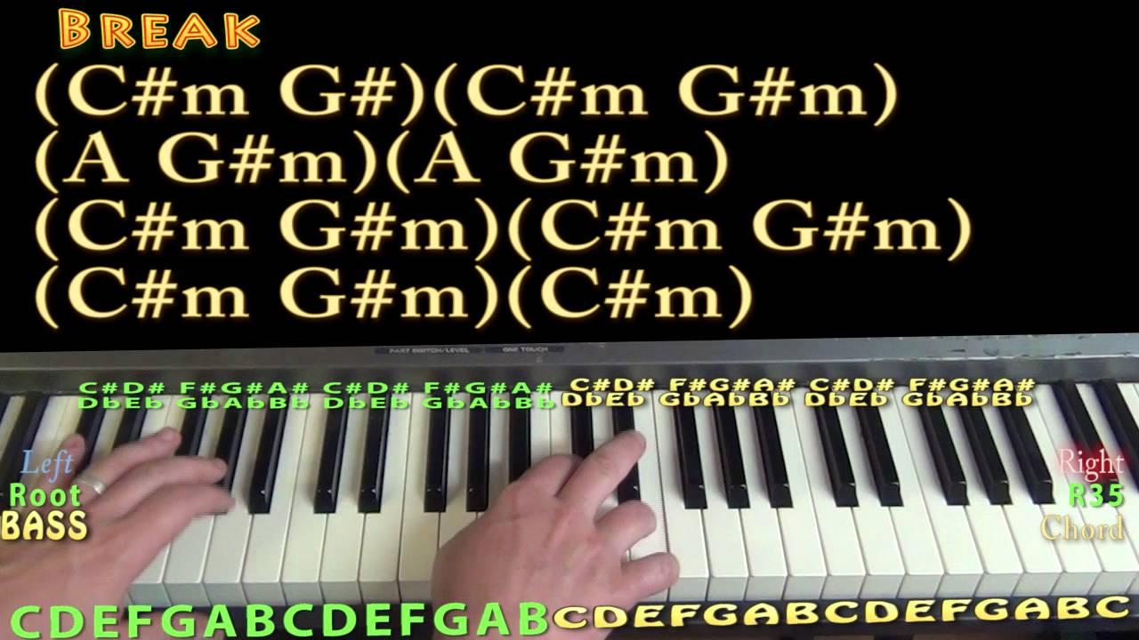 Feedback (Kanye West) Piano Lesson Chord Chart - YouTube
