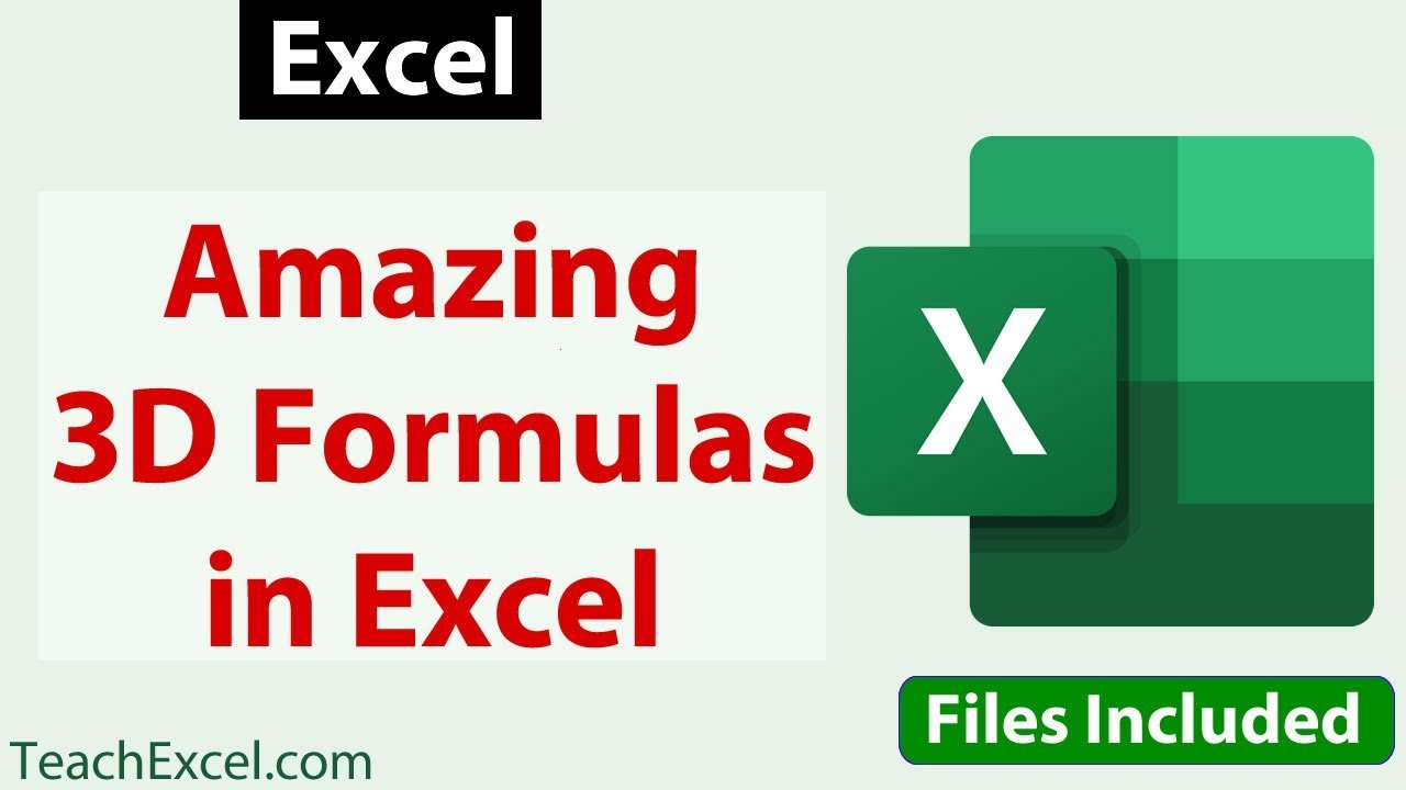 Amazing 20D Formulas in Excel & How to Use Them