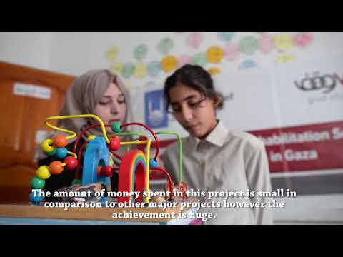 Supporting Special Rehabilitation Services for Vulnerable Children in Gaza
