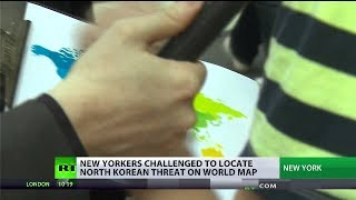 Can Americans find North Korea on a map?