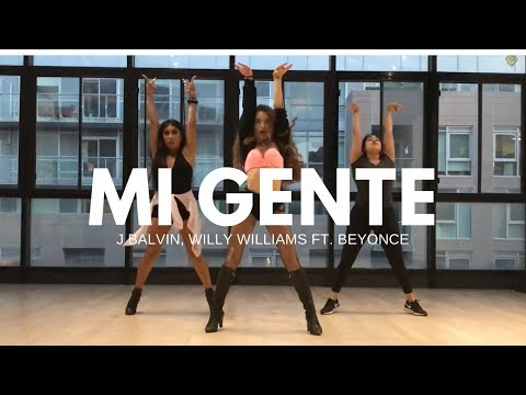 MI GENTE - J Balvin, Willy Williams ft. Beyonce II MONICA GOLD CHOREOGRAPHY