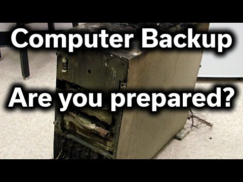 Computer Backup - Are You Prepared? - Guide to Safe & Easy Backups