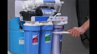Hướng dẫn thay 3 lõi lọc thô cho máy lọc nước tại nhà chuẩn không phải chỉnh !