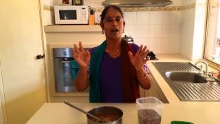 Horse gram curry (kollu )