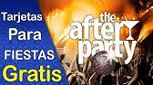 Invitación Animada Digital Fiesta De Disfraces Youtube
