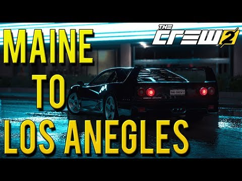 MAINE TO LOS ANGELES FULL CRUISE | The Crew 2