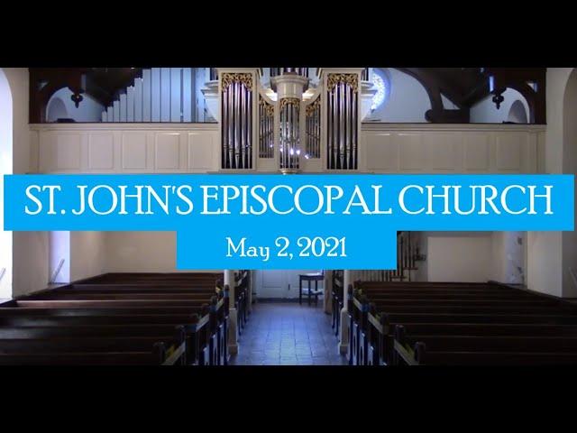 St. John's service May 2, 2021