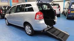 Gowrings mobility vehicle vauxhall Zafira wav