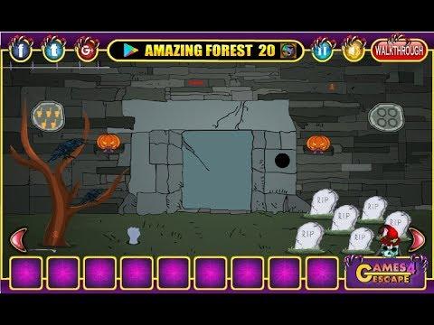 G4e Halloween Cemetery Escape Walkthrough Games4escape