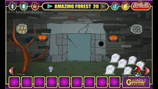 G4e Halloween Cemetery Escape Walkthrough [games4escape]