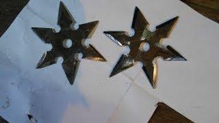 как сделать сюрекен (метательную звезду)