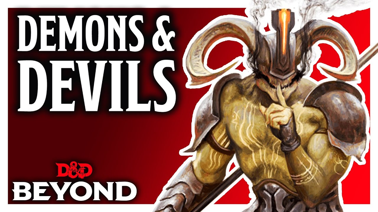 The Difference Between Demons Devils In Baldur S Gate Descent Into Avernus Youtube