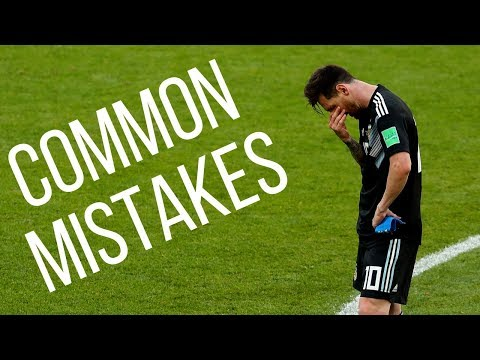 5 Mistakes Soccer Players Make