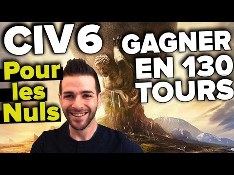 "CIVILIZATION 6 - Comment ""Gagner"" en 130 tours contre l'iA niv.6 ou 7 gameplay P.2"
