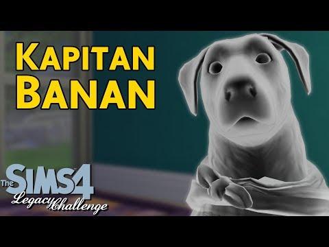 Kapitan Banan | Sims 4 Bananowie #134