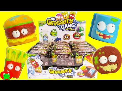 Grossery Gang Crusty Chocolate Bars