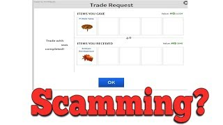 Is Trading Roblox Projecteds Considered Scamming?