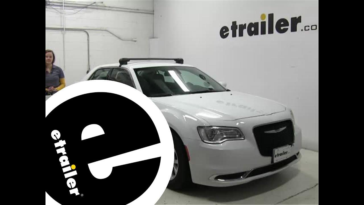 Inno Roof Rack >> etrailer | Inno Roof Rack Review - 2015 Chrysler 300 - YouTube
