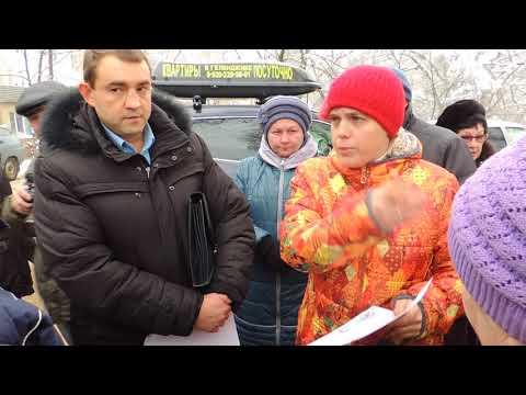 Встреча противников многоэтажек на улице Артамонова в Воронеже с застройщиком