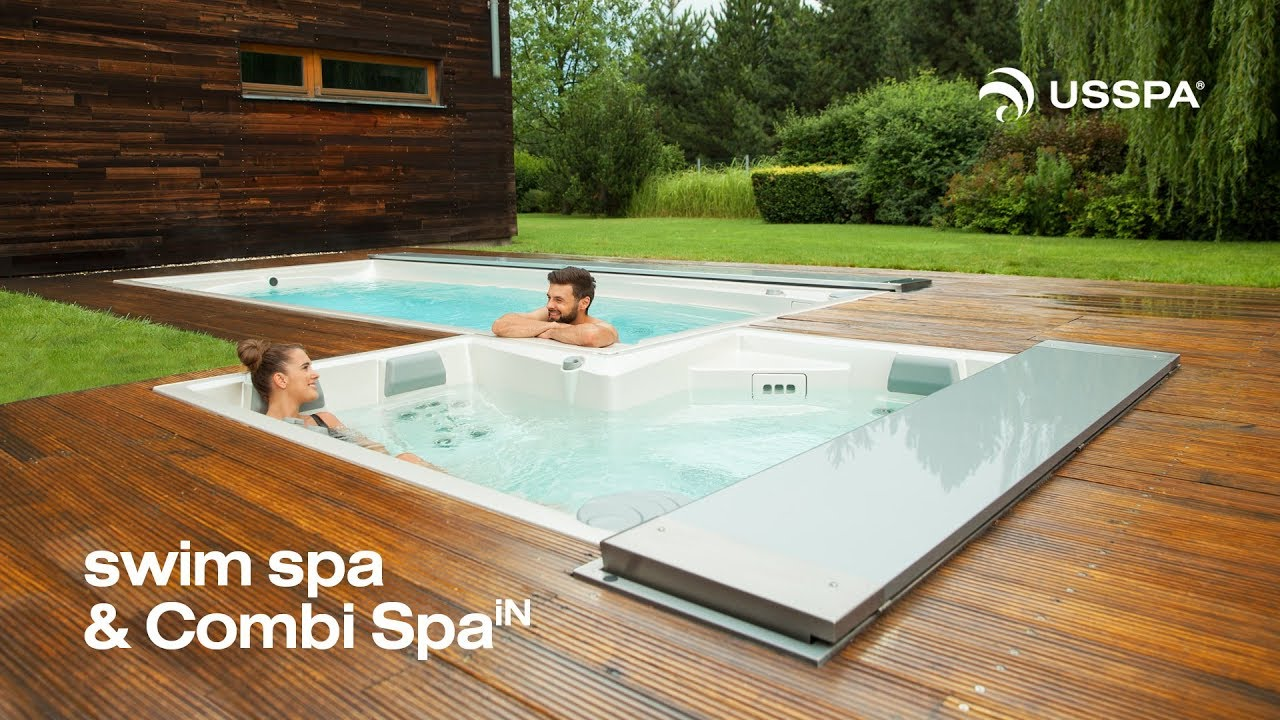 Usspa Swim Spa Combi Spa In Youtube