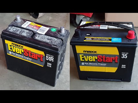 Honda Accord? DIY upgrade that undersized battery!