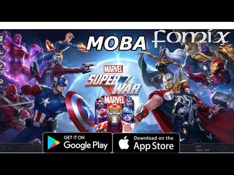 видео: moba по вселенной Марвел от netease - marvel super war (android ios)