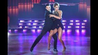 Agustín Casanova y Flor Vigna bailaron una milonga sin brillar