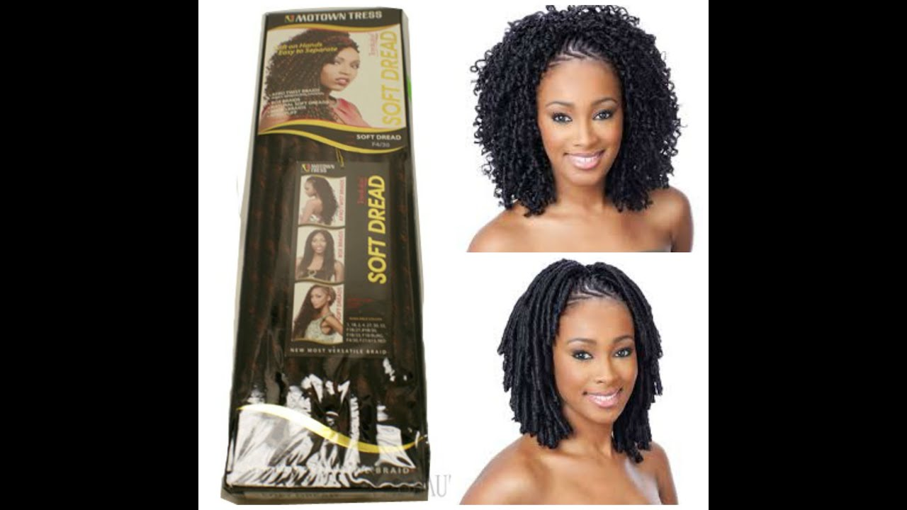Motown Tress Soft Dread Hair Review Youtube