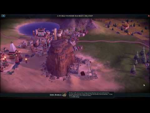 Sid Meier's Civilization VI - Jebel Barkal Cutscene