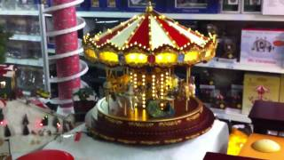 Mr. Christmas musical carousel